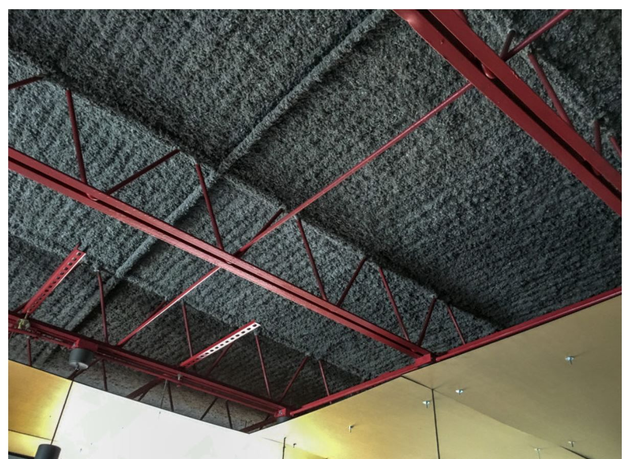 K13 Acoustical Insulation Requested Quote On 5 31 2018 Ceiling Insulation Ceiling Painting Sound Proofing