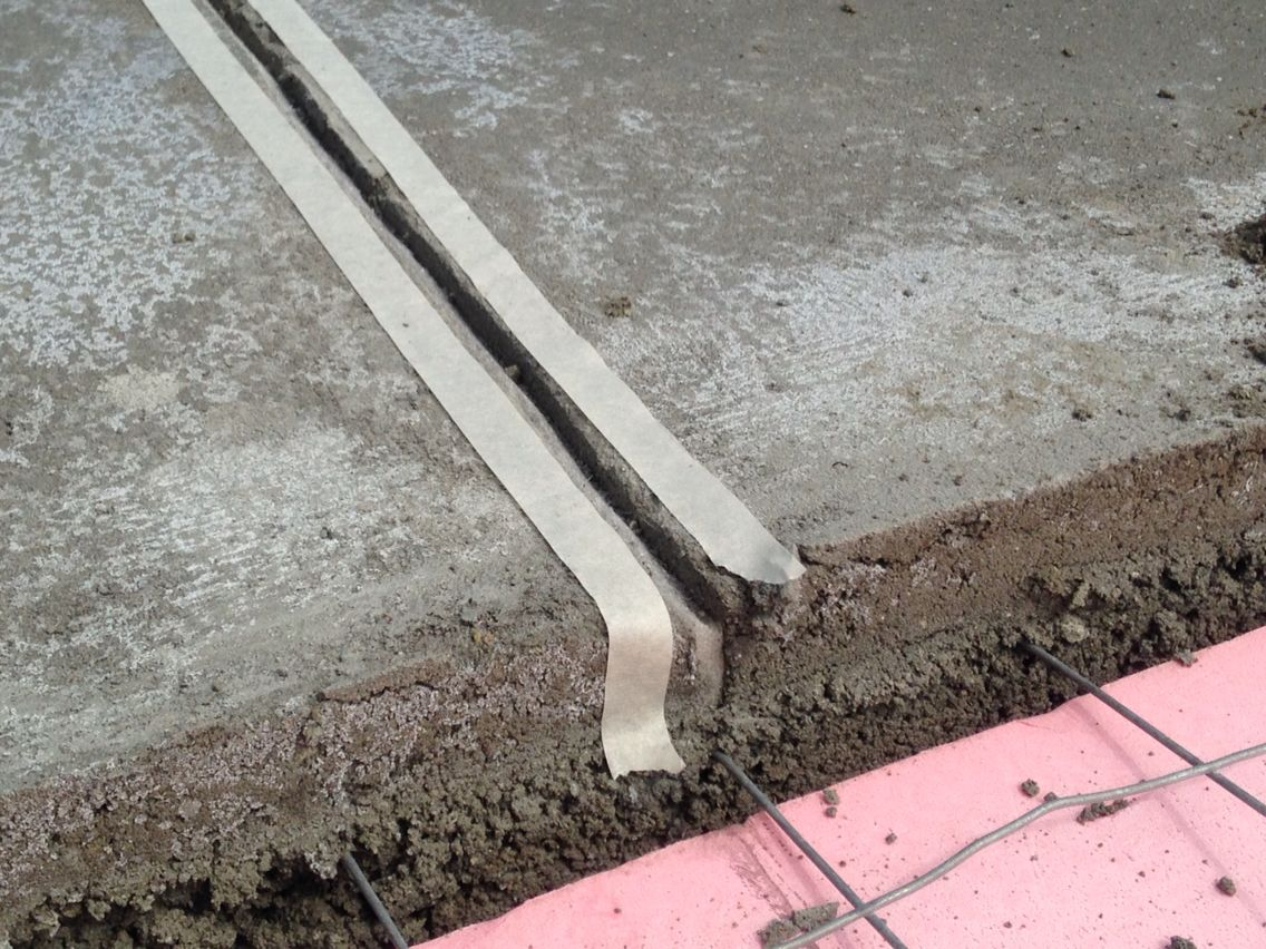 Expansion Joint Filler Setting Between Screed Bays Expansion Joint The Expanse Settings