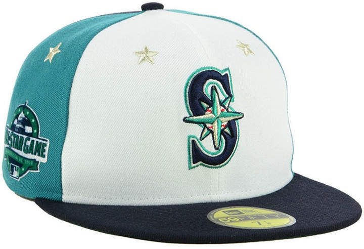 size 40 a7736 d1f64 New Era Boys  Seattle Mariners All Star Game w Patch 59FIFTY Fitted Cap