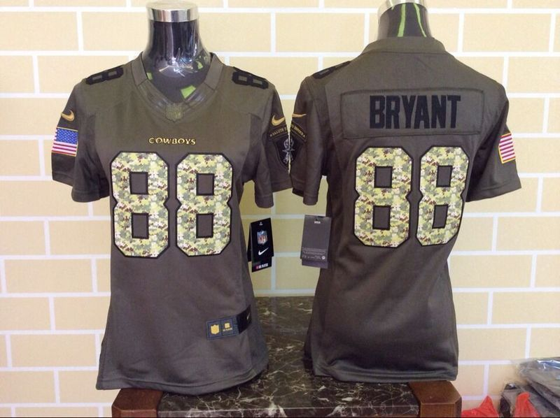 Women's Dallas Cowboys #88 Dez Bryant Green Salute To Service 2015 NFL Nike Limited Jersey #dezbryantjersey Women's Dallas Cowboys #88 Dez Bryant Green Salute To Service 2015 NFL Nike Limited Jersey #dezbryantjersey Women's Dallas Cowboys #88 Dez Bryant Green Salute To Service 2015 NFL Nike Limited Jersey #dezbryantjersey Women's Dallas Cowboys #88 Dez Bryant Green Salute To Service 2015 NFL Nike Limited Jersey #salutetoservice