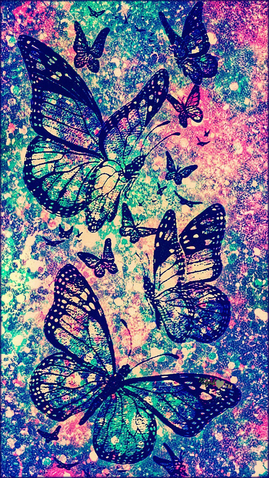 Timeless Butterflies Galaxy Wallpaper #androidwallpaper # ...