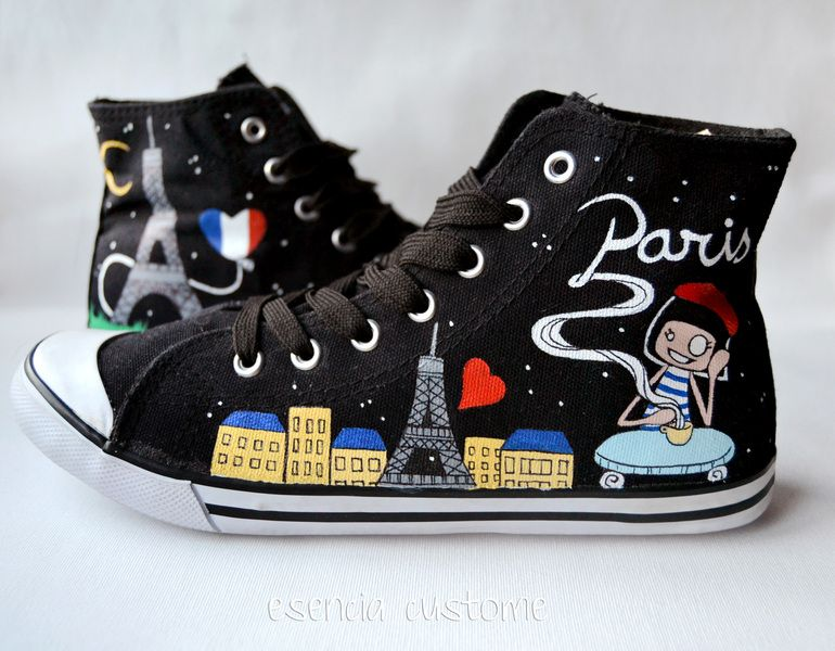 zapatillas converse customizadas
