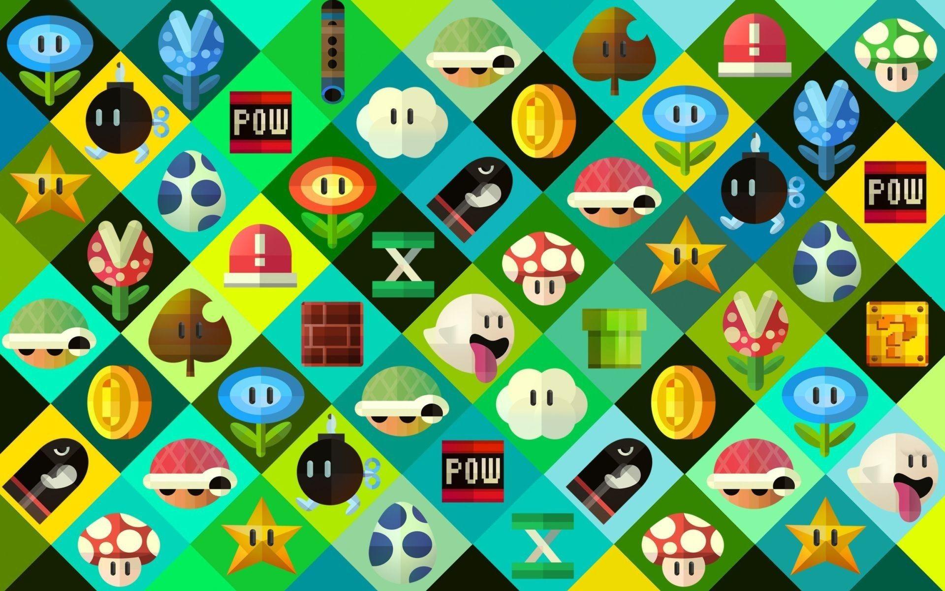 71 Nintendo Desktop Wallpapers On Wallpaperplay Game Art Wallpaper Print Pictures