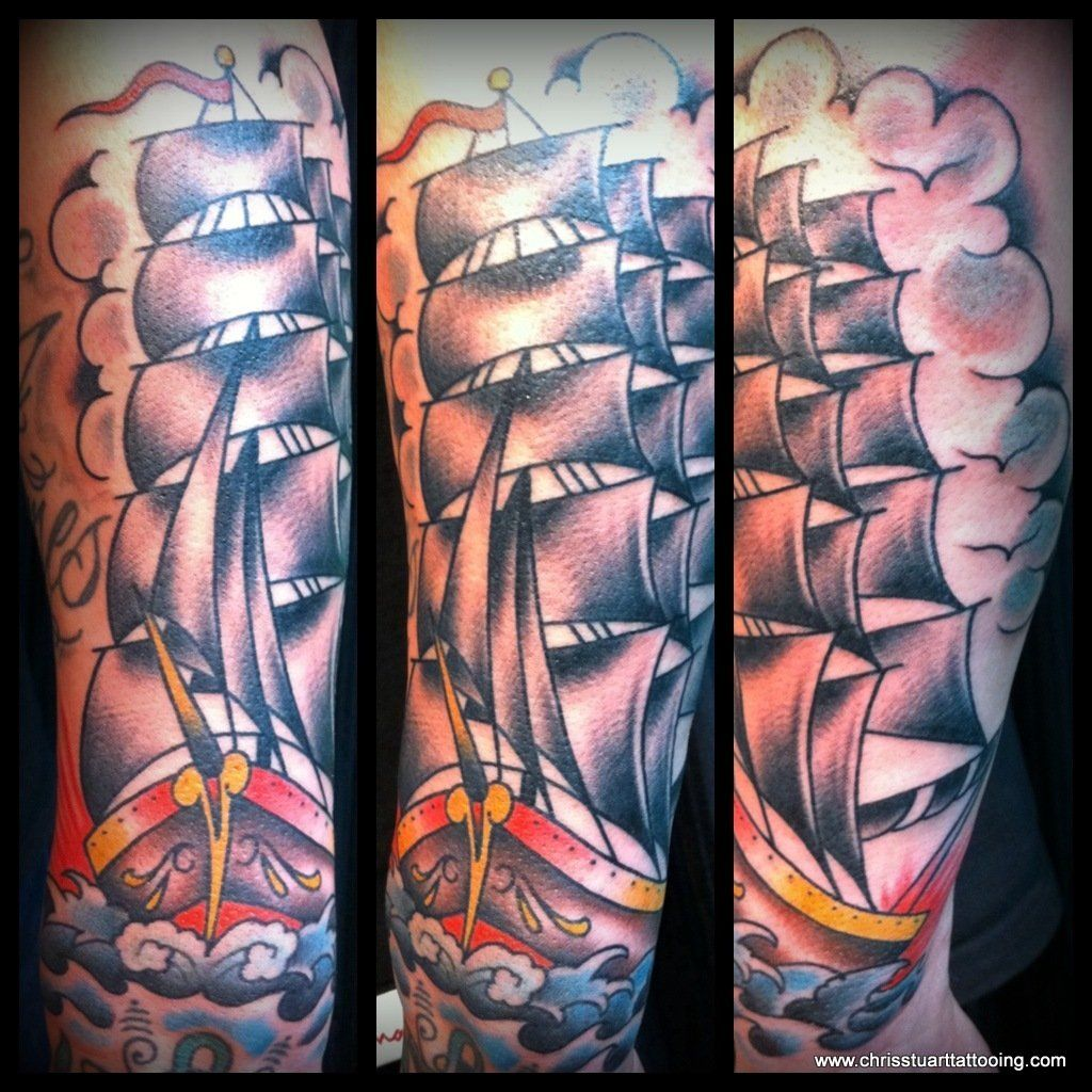 40++ Best Clipper ship back tattoo ideas in 2021