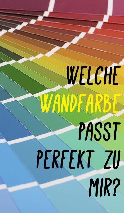 Welche Wandfarbe Passt Zu Mir selbst test welche wandfarbe passt perfekt zu mir wände