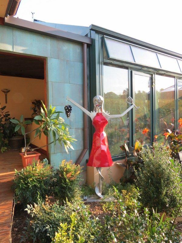 Glass house vineyard winery photo by carol greene