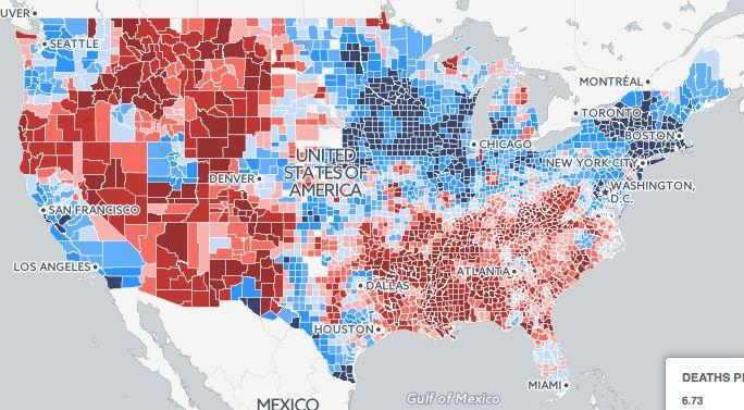 Micdotcom Influences Pinterest - Us government crime map 2013