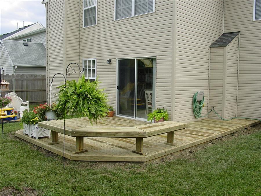 back deck ideas | Wood Decks, Wood Decking Designs | Wood ... on Backyard Wood Deck Ideas id=66967