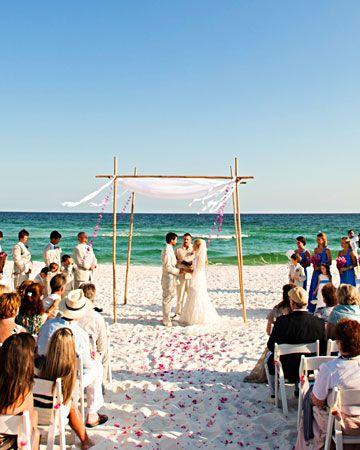 A Vibrant Wedding On The Beach In Florida