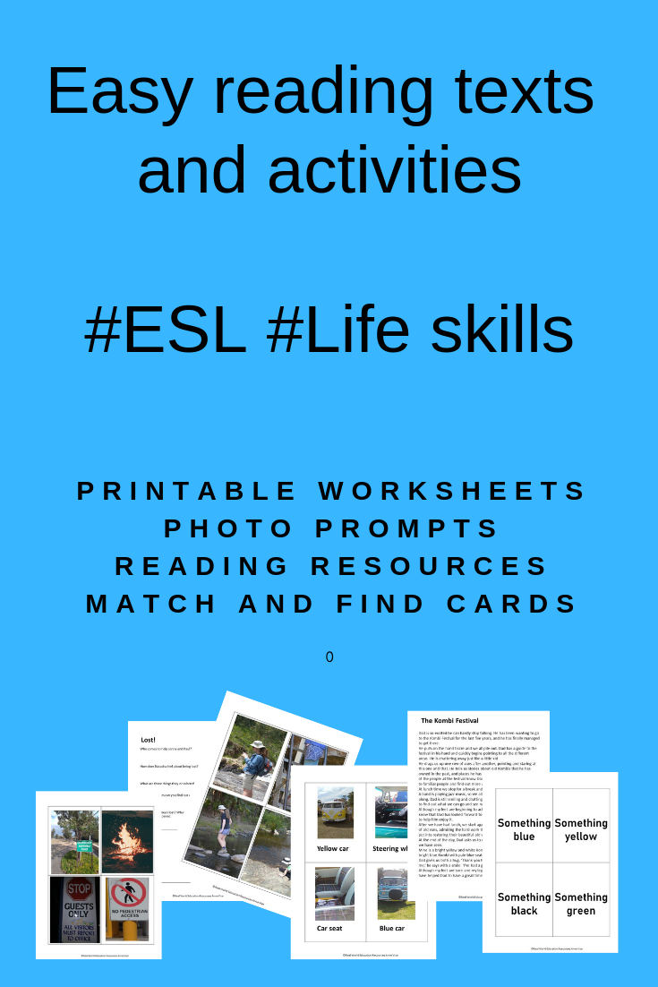 Reading Comprehension Passages Real World Photo Prompts And Matching Game For Esl Learners Life Skills Life Skills Special Education Esl Reading Comprehension [ 1102 x 735 Pixel ]