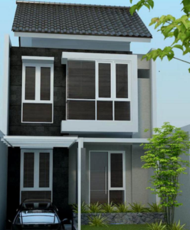 9400 Gambar Rumah Minimalis Sederhana 2 Lantai Type 21 Terbaru