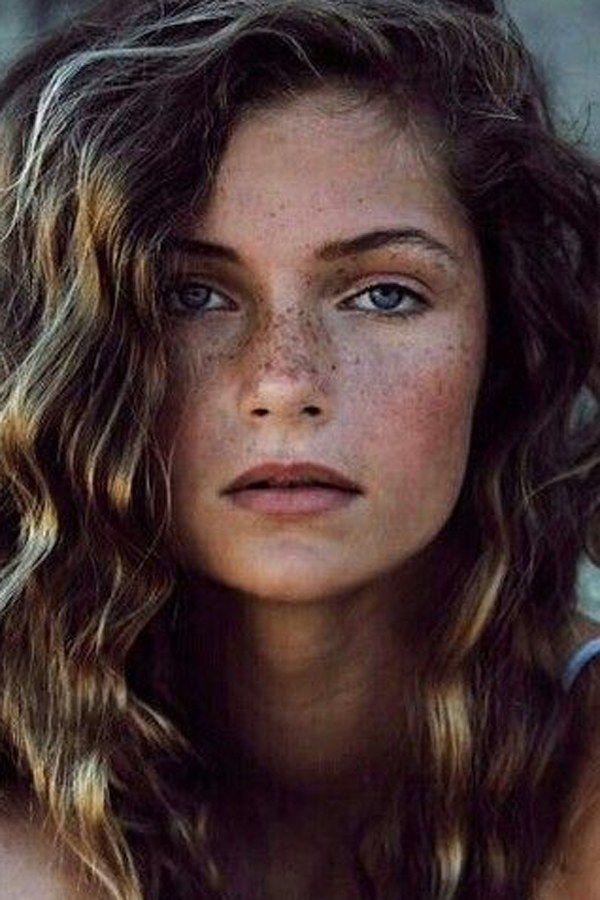 50 Beautiful Girls With Freckles Art Inspiration Beautiful