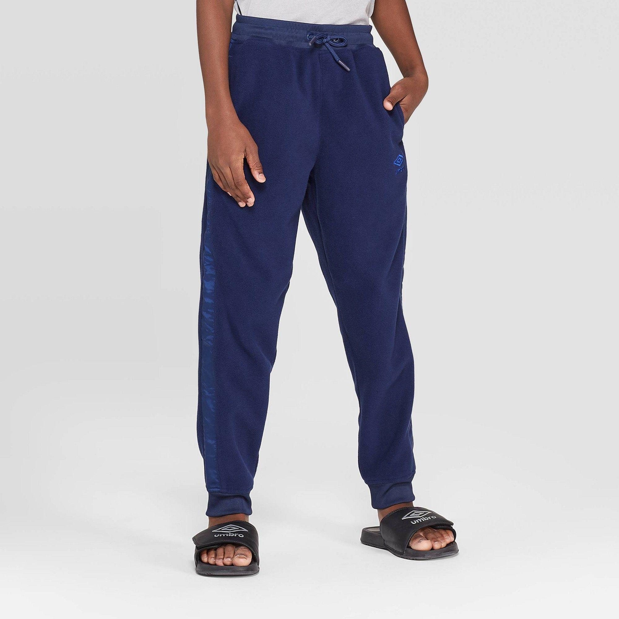 umbro men's micro fleece pants