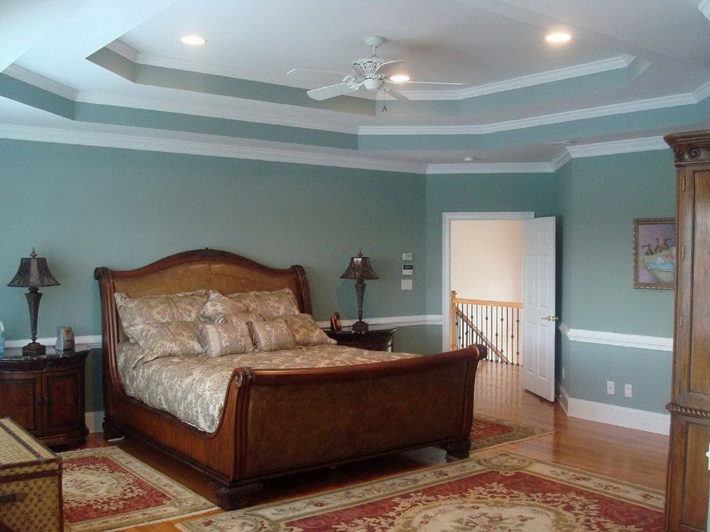 Double Tray Ceiling Paint Ideas Home Design Master Bedroom Color Real Estate Bedroom Paint Colors Master Angled Ceiling Bedroom Master Bedroom Paint