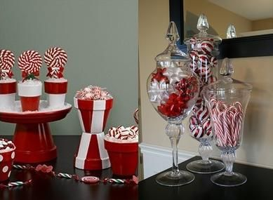candy cane christmas decorations google search