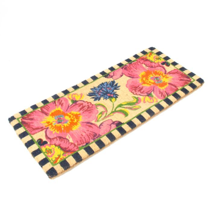 MacKenzie-Childs - Flower Market Double Door Entrance Mat