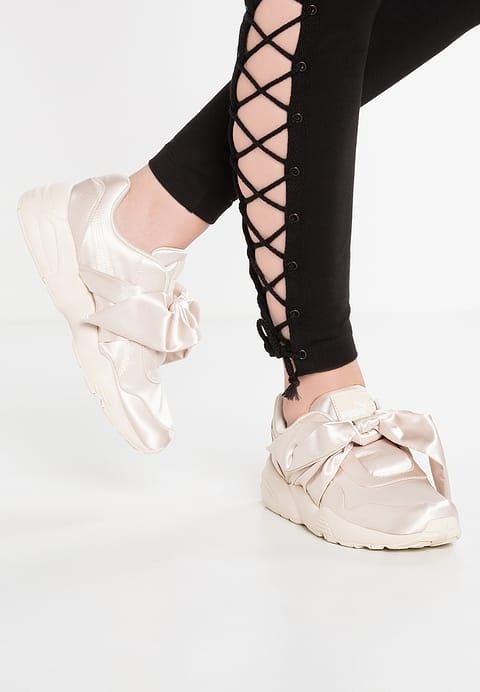 Pink Puma Lacci Rihanna Fenty Women Senza Sneaker By Scarpe Bow Tfxxw4CqP