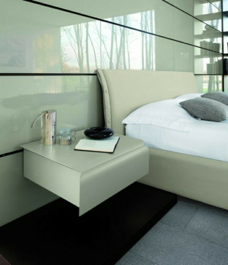 Nachttisch Zum Einhangen Praktische Schlafzimmerlosung