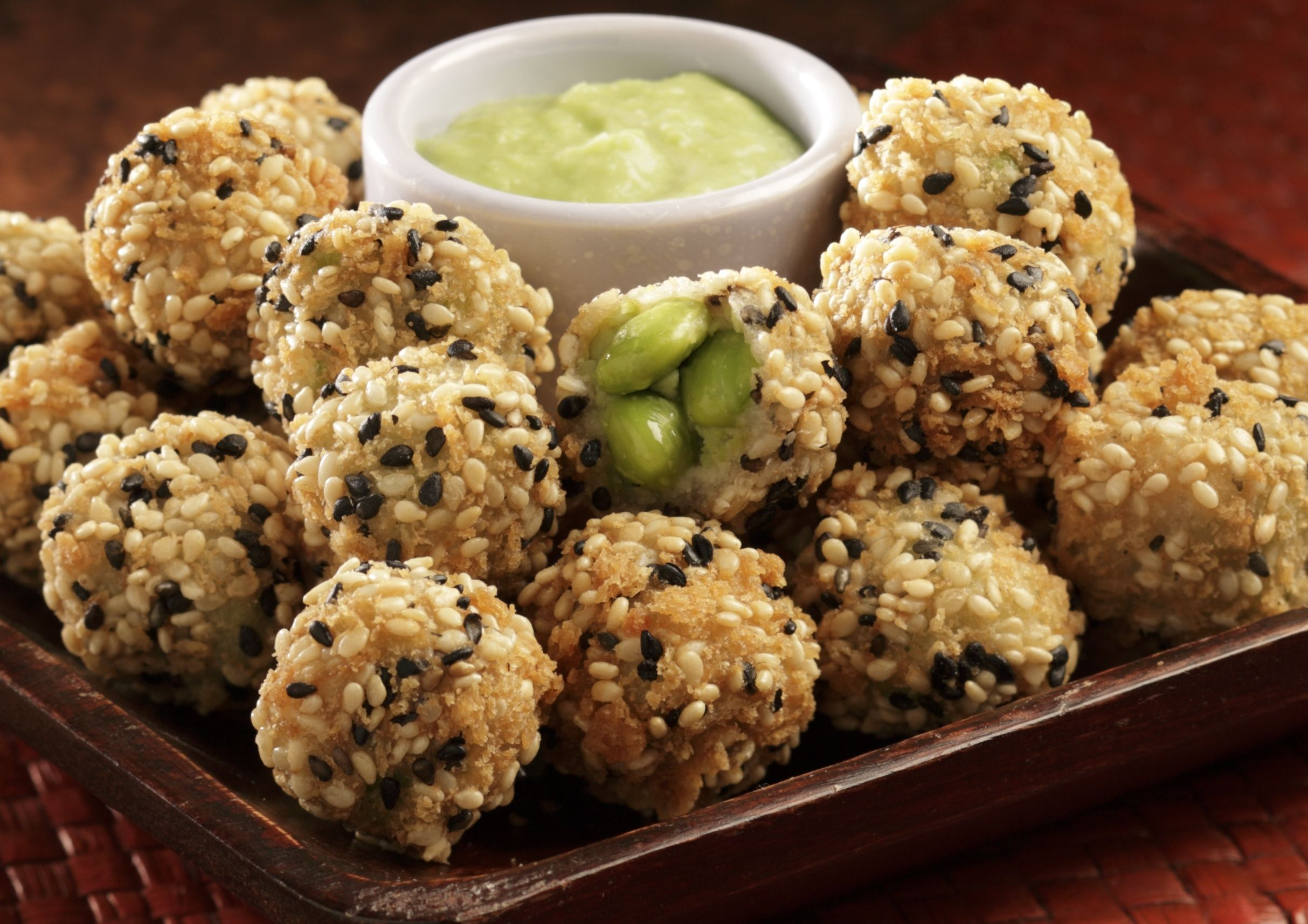 Wasabi Flavor And Encrusted In Our Crunchy Panko Coating And