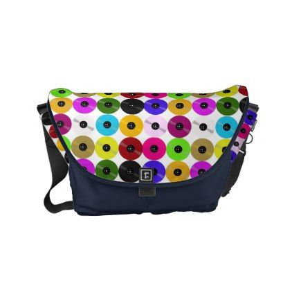 Vinyl - The Collectors' Edition Small Messenger Bag - accessories accessory gift idea stylish unique custom