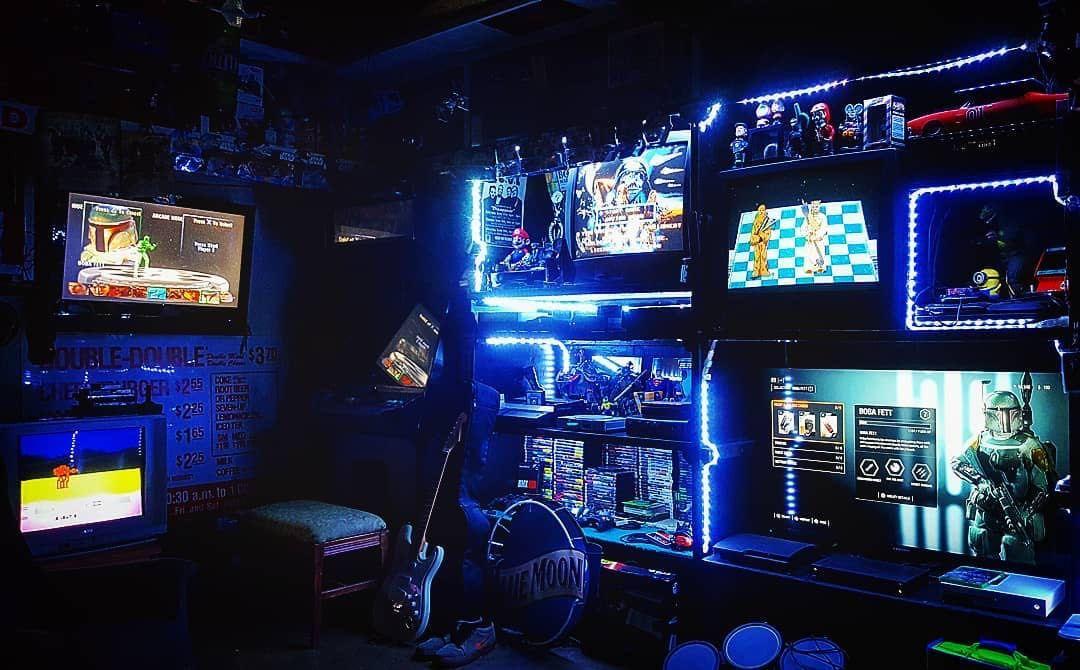 I wish this was my battle station battlestation gamer