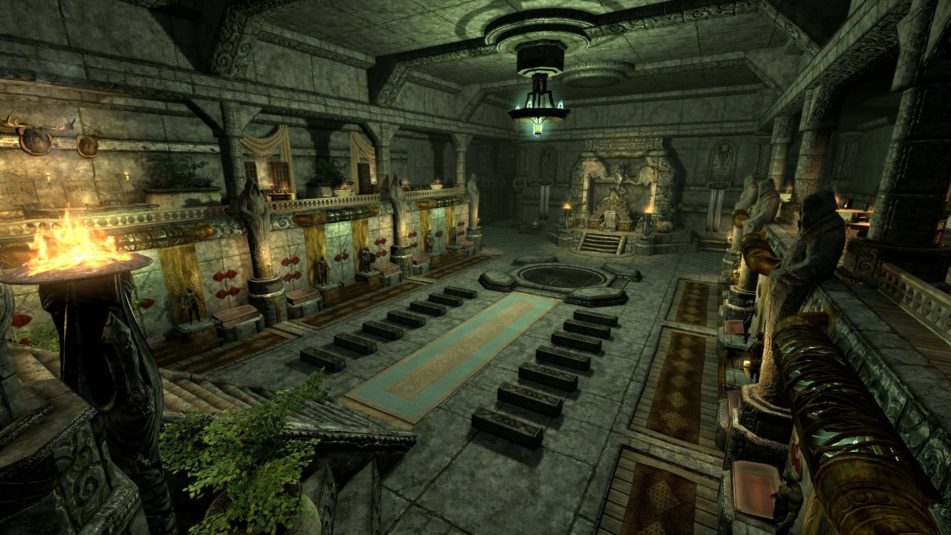 Dovahkiin Temple - Sanctuary at Skyrim Nexus - mods and