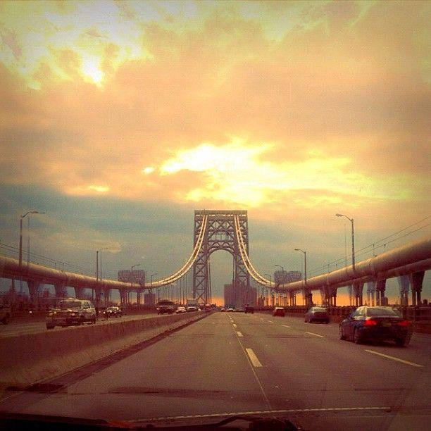 Brooklyn Bridge Sunlight