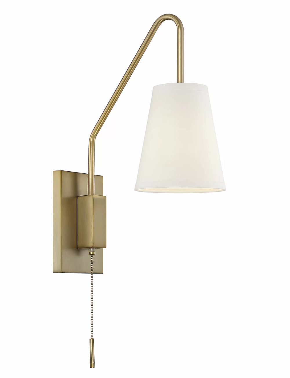Keith 10 - Light Dimmable Plug-In Armed Sconce in 10  Wall