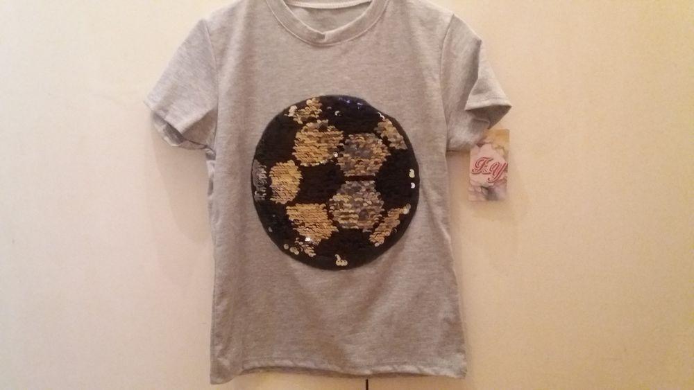 e12b0d6bf Camiseta lentejuelas mágicas magicas reversibles ropa niño chico cambia  color