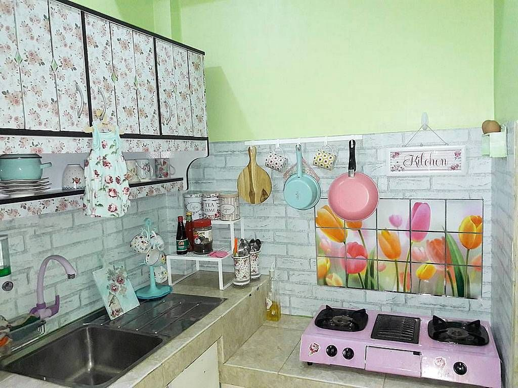 Desain Dapur Sederhana Kitchen Di 2019 Home Decor