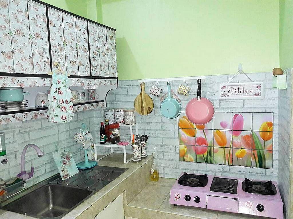 Desain Dapur Sederhana  Kitchen di 2019  Kitchen decor