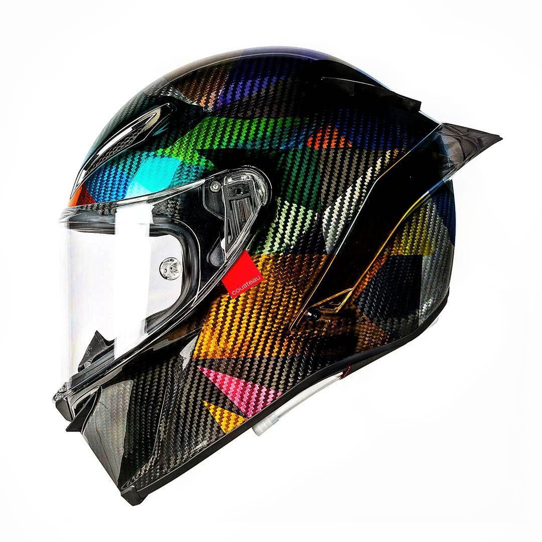 e69dd342 AGV Pista GP-R (Instagram / @hellocousteau) | Motorcycle Mayhem ...