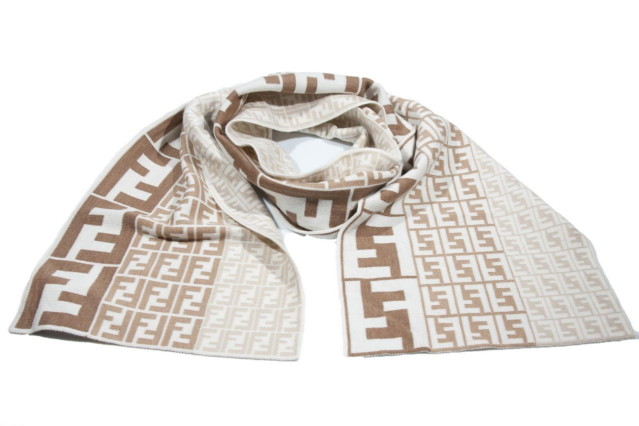 detailed look 1a116 91b7e Details about Scarf FENDI Scarf Diapers U 149eu -30 ...