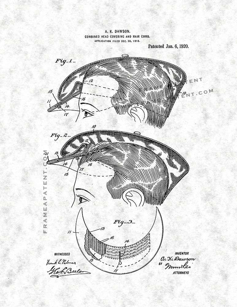 Pin By Frame A Patent On Beauty Care Patent Prints