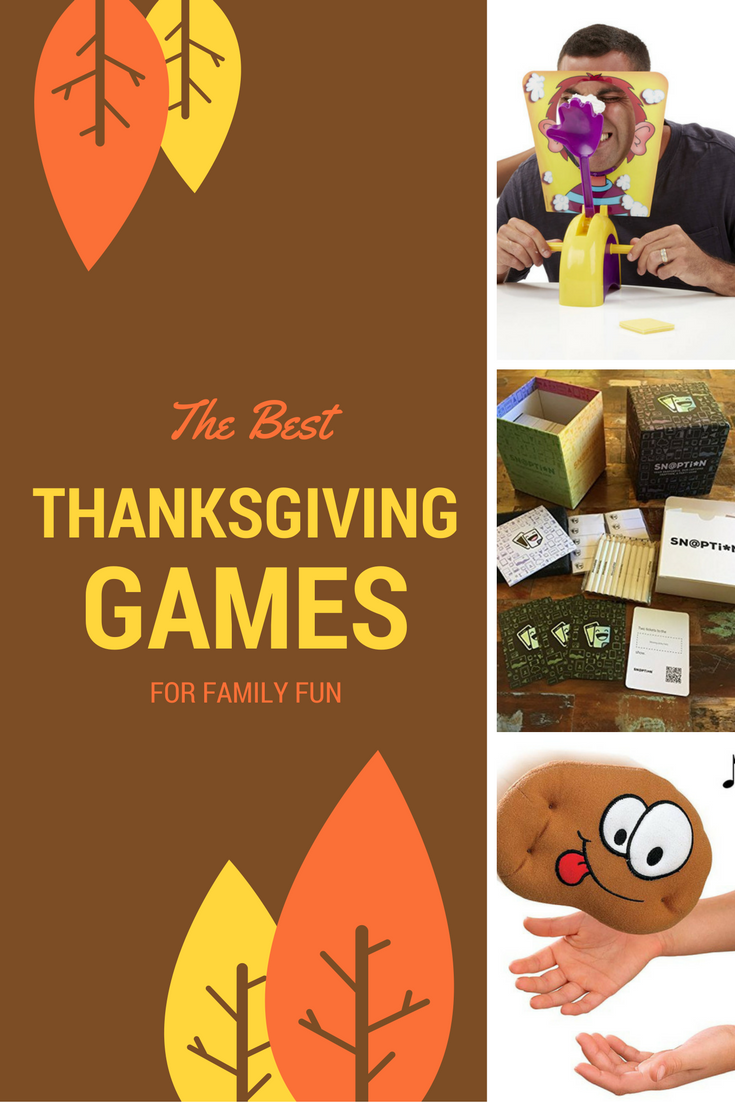 The Best Thanksgiving Games for Adults & Kids FoodFu