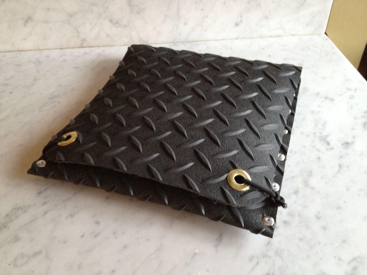 Quick Ipad case from repurposed material