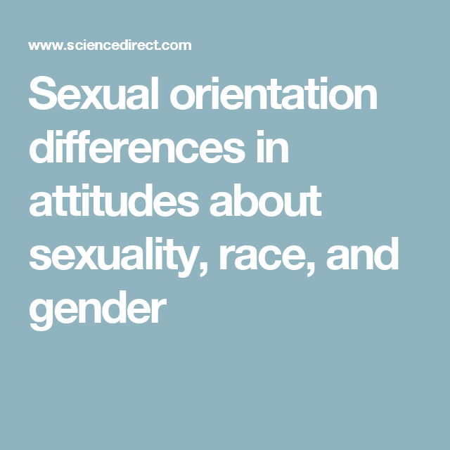 Gender and sexual orientation articles