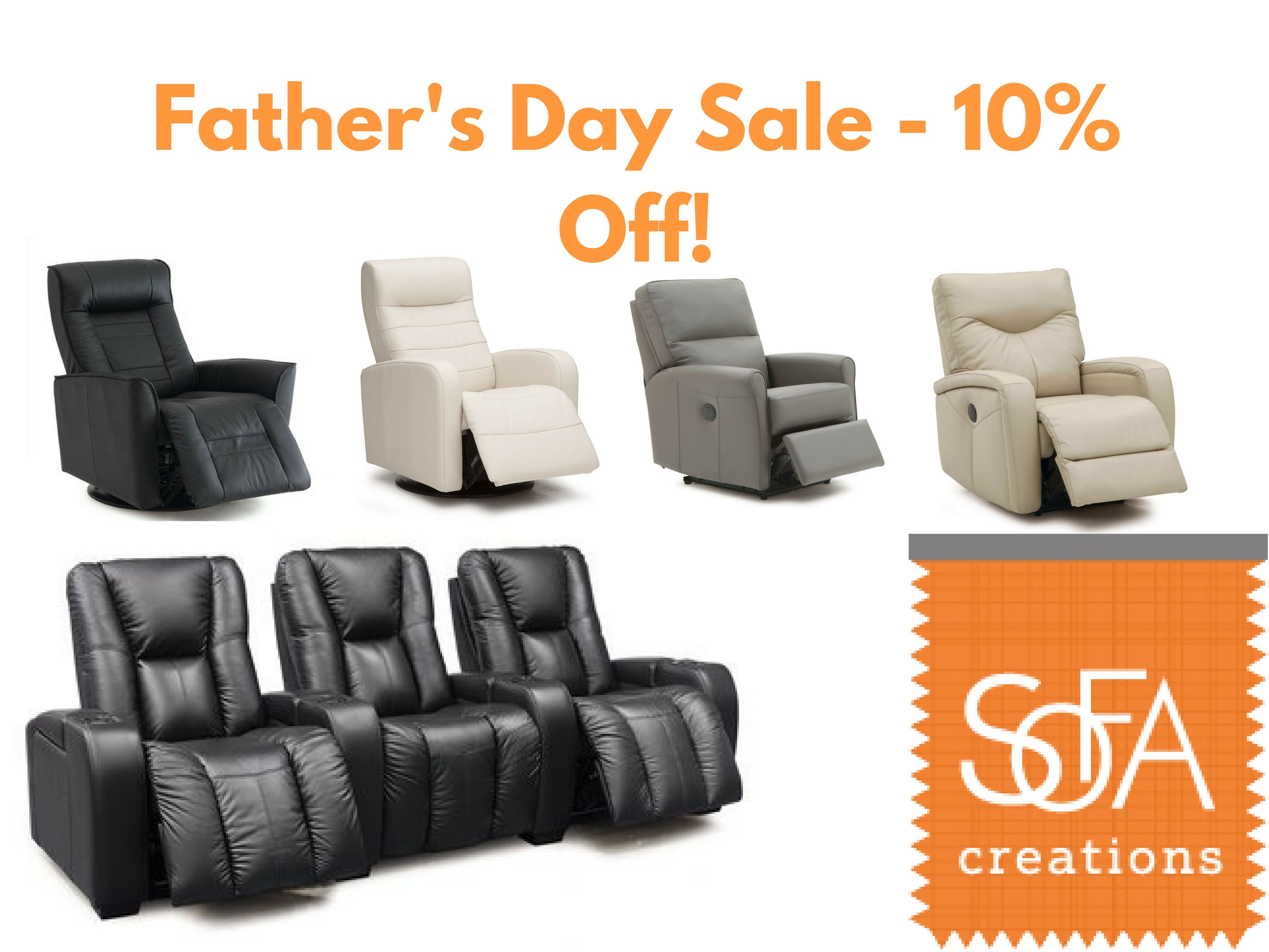We Re Celebrating Father S Day With A 10 Off Sale On All Our Reclining Furniture Come Check Out One Of Our Sho Reclining Furniture Custom Sofa Quality Sofas
