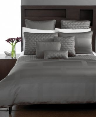 Hotel Collection Frame Queen Bedskirt Bedding Collections Bed Bath Macy S Hotel Collection Grey Bedding Bedding Sets