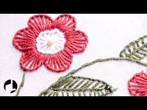 embroidery art for clothes easy diys to do at home youtube