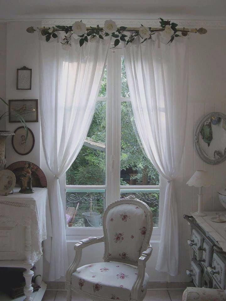 Pin By Hannan On Home Shabby Chic Living Room Shabby Chic Curtains Chic Home Decor