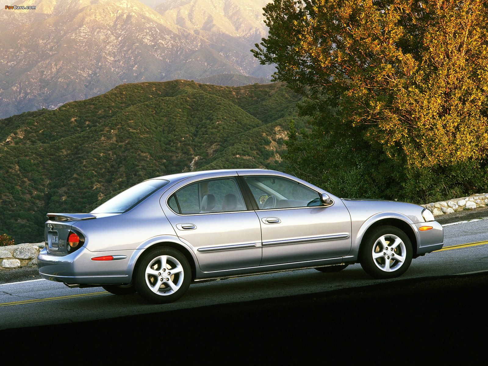 nissan maxima a33 specifications