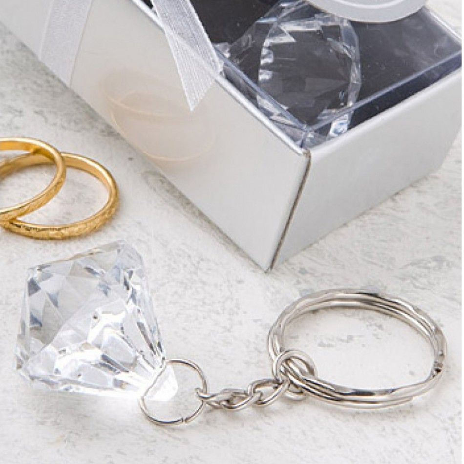 Crystal Clear Collection Diamond Design Key Chain [328-8145 Buy ...
