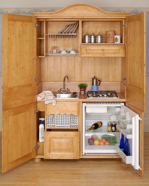 cucine negli armadi -   design   Pinterest   Searching