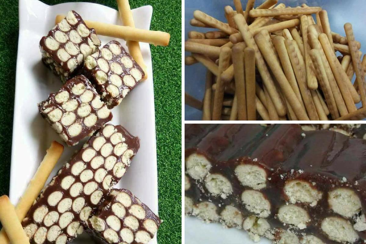 Kek Batik Guna Biskut Jejari Jadi Rebutan Anak Memang Sedap Rasa