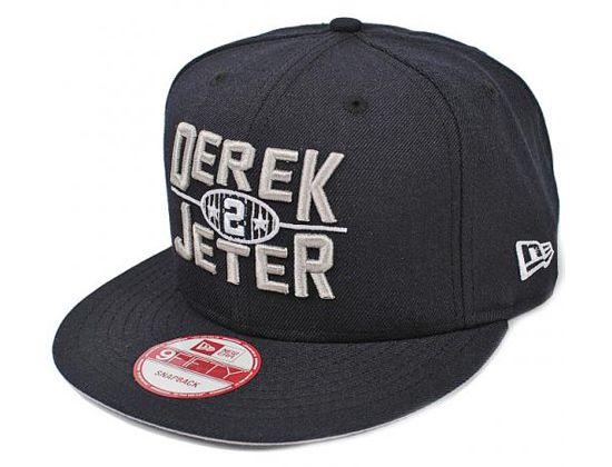 Derek Jeter 2 Yankees Snapback Cap By New Era X Mlb Snapback Cap Yankees Fitted Hat Snapback