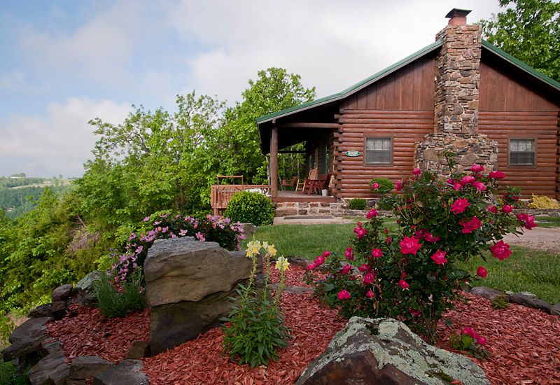 a eureka luxury lake home arkansas view springs tour forest cabins log virtual sidebar our of