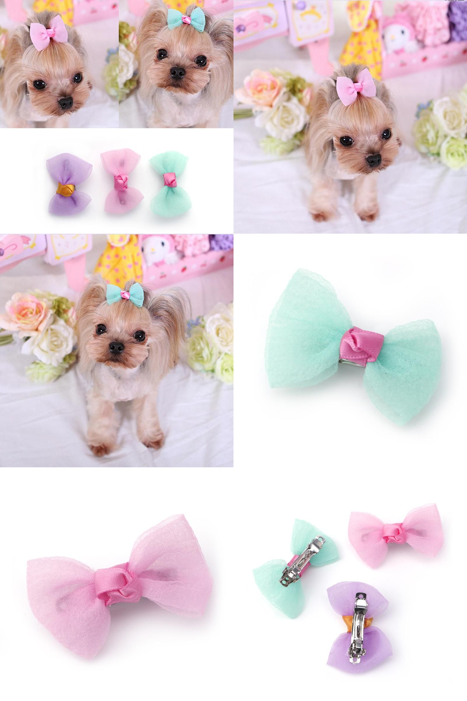Visit to buy brand new dogs hair accessories cute pets dogs hairpin