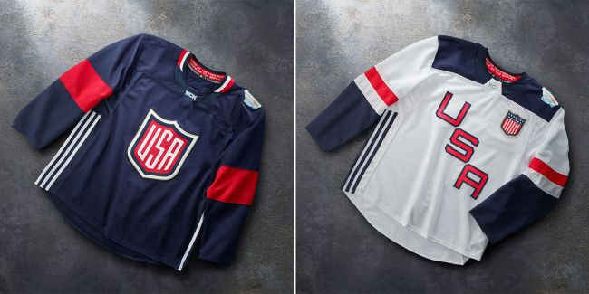 World Cup Of Hockey 2016 Jerseys Now For Sale And They Re So Fire They Ll Melt The Ice Hockey Usa Hockey World Cup Jersey Hockey