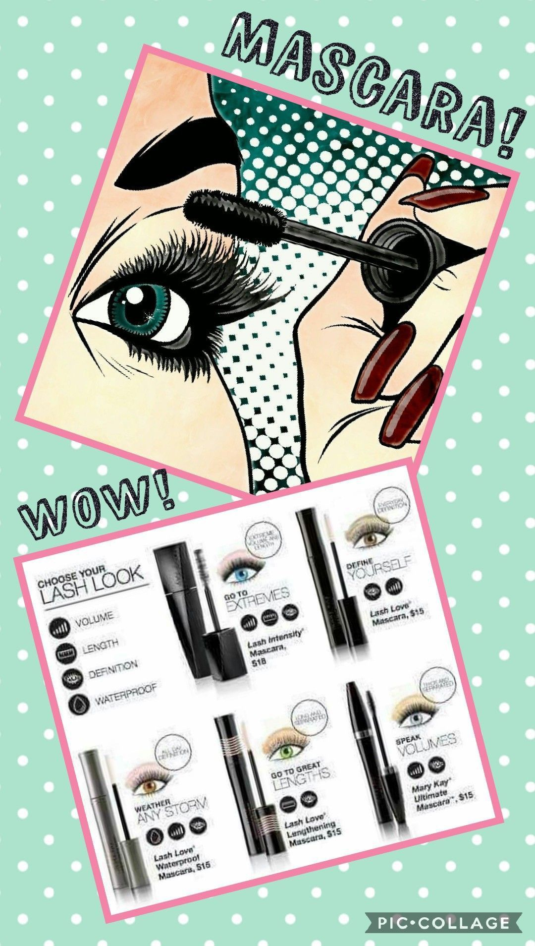 f2b916f82cb What's your favorite mascara?! www.marykay.com/hhollin | Mary Kay ...